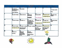 May Events Calendar