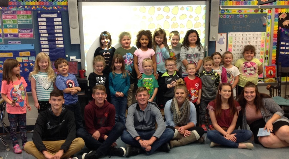 "Mr. Pistner's Class Gives Elementary Students a Little ""Boost"""