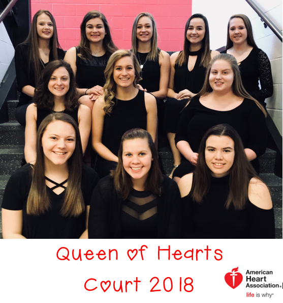 2018 Queen of Hearts Court
