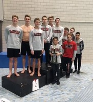 Clearfield Boys' Swimming and Diving Team
