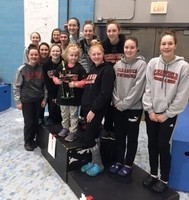 Clearfield Girls' Swimming and Diving Team