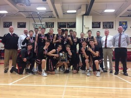 Bison Overtake Owls in Second Half For D-9 Four-Peat