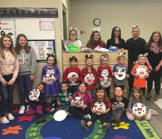 CAJSHS Child Development Students Participate in Read Across America