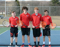 2018 Boys' Tennis Team Returning Letterwinners