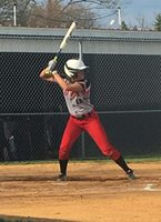 Cline Claims Lady Bison Record for Hits in 12-6 Victory