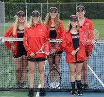 2018-19 Tennis  Returning Letterwinners