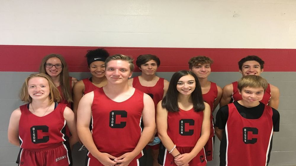 2020 Bison Cross Country Team