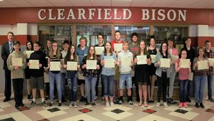 Junior/ Senior High May Students of the Month