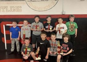 Keystone Junior Wrestling League Placewinners from Clearfield