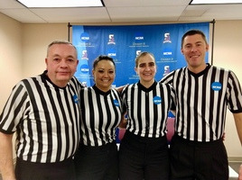Sarah Fye Officated NCAA Women's Basketball   Championship Game