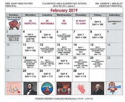 CAES February Events Calendar