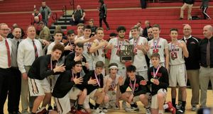 Boys' Basketball Reign As District 9 Champs for Fifth Time