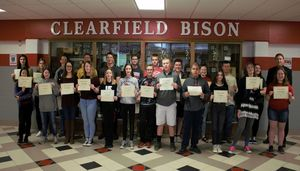 Junior/ Senior High School March Students of the Month