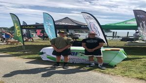 Clearfield County High School Fishing team Competes