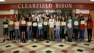 CAJSHS Students of The Month for September