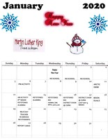 CAJSHS January Calendar of Events