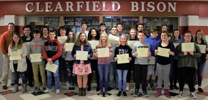 CAJSHS December Students of the Month