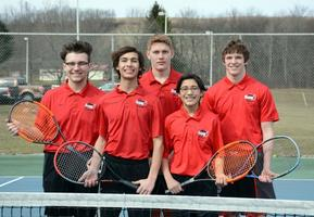 2019 Boys' Tennis Returning Letterwinners