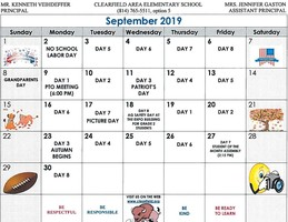 CAES September Events Calendar